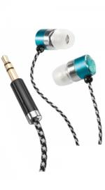 Altec Lansing MZX736AQ Bliss Platinum Womens Earphones - Aqua
