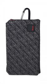 Bench Mobile Phone Pouch Carry Case - Black & Red
