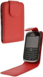 Fonerange Blackberry 9320 Flip Red Case Cover with Screen Protector
