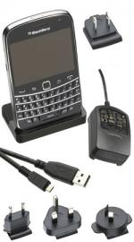 BlackBerry Bold 9900/9930 Charging Pod with International Charger
