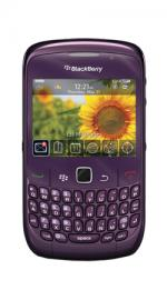 BlackBerry Curve 8520 O2 Pay As You Go Mobile Phone - Purple