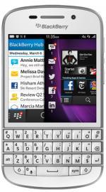 BlackBerry Q10 SIM Free / Unlocked Qwerty Touchscreen Mobile Phone  16GB  White