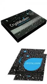 Crystalusion Screen Protector Scuff Resistant Antimicrobial Total Protection