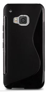 Fonerange Jelly Case For HTC One M9 - Black