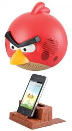 Gear 4 Angry Birds Docking Speaker for iPod, iPhone, iPad - Red Bird (ex-demo stock)