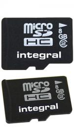 Integral Micro SC HC Memory Card 8 GB Class 2