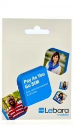 Lebara Pay as you go Micro SIM Card Pack