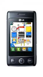 LG Cookie Lite T300 Orange Pay As You Go Mobile Phone - Black
