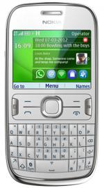 Nokia Asha 302 Qwerty O2 Pay As You Go Mobile Phone - White