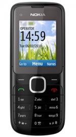 Nokia C1-01 O2 Pay As You Go Mobile Phone Black