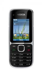 Nokia C2-01 Black Mobile Phone on Orange Pay As You Go