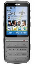 Nokia C3-01 Touch & Type Sim Free Unlocked Mobile Phone - Grey with 1GHz Processor