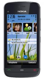 Nokia C5-03 Sim Free Unlocked Mobile Phone Black