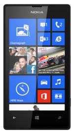 Nokia Lumia 520 on T-Mobile Pay As You Go / Payg Mobile Phone- 8GB- Faith Black