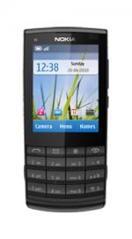 Nokia X3-02 Touch & Type T-Mobile Pay As You Go Mobile Phone - Dark Metal