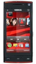Nokia X6 32GB Black/Red Sim Free Unlocked Mobile Phone