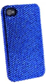 Fonerange Apple iPhone 4/4S Bling Crystal Shell Case Blue