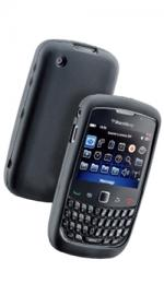 Fonerange Silicone Skin Case Black for Blackberry 8520/8530/9300/9330