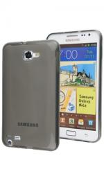 Fonerange Transparent Black Jelly Case for Samsung Galaxy Note N7000