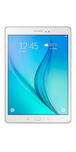 Samsung 9.7 Inch T555 16GB LTE WiFi Galaxy Tab A - White