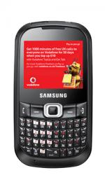 Samsung B3210 Genio Qwerty Mobile Phone on Vodafone PAYG