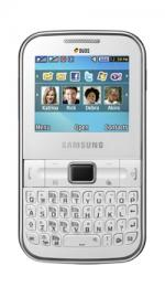 Samsung C3222 Chat Sim Free Unlocked Mobile Phone White
