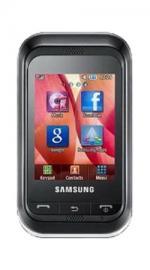 Samsung C3300 Libre Orange Pay As You Go Mobile Phone - Black