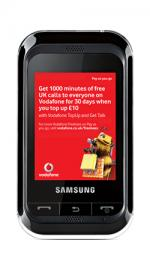 Samsung C3300 Mobile Phone on Vodafone PAYG