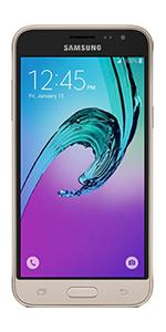 Samsung Galaxy J3 Sim Free 2016 Version Smartphone - Gold