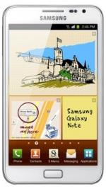 Samsung Galaxy Note N7000 Android Sim Free Unlocked Mobile Phone - White