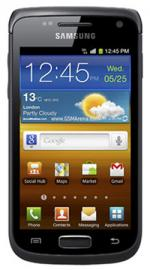 Samsung Galaxy W i8150 Android Sim Free Unlocked Mobile Phone - Black