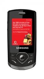 Samsung S3550 Brandon Mobile Phone on Vodafone PAYG