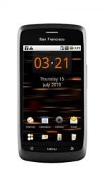San Francisco Android Mobile Phone Black on Orange Pay As You Go