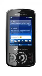 Sony Ericsson Spiro Orange Pay As You Go Mobile Phone - Black
