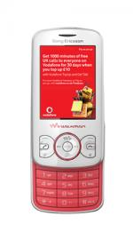 Sony Ericsson Spiro Vodafone PAYG Mobile Phone - Pink