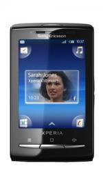 Sony Ericsson Xperia X10 Mini Android O2 Pay As You Go Mobile Phone - Black