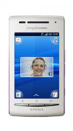 Sony Ericsson Xperia X8 Android O2 Pay As You Go Mobile Phone - Navy/Pink