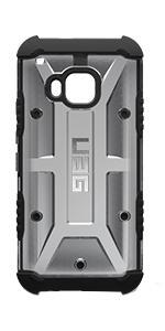 Urban Armor Gear Htc One M9 Composite Case - Ash/Black