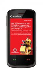 Vodafone 547 Mobile Phone on Vodafone PAYG
