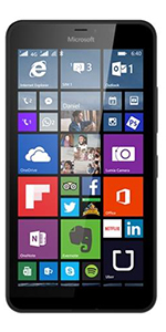 Microsoft Lumia 640XL Dual SIM - Sim Free Mobile Phone - Black