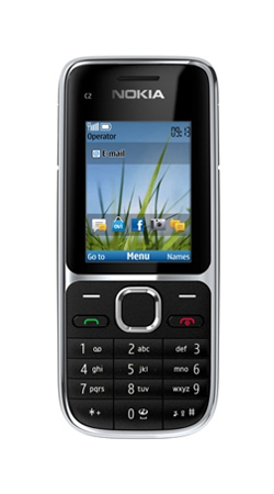 Nokia C2-01 Sim Free Mobile Phone - Black