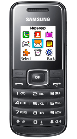 Samsung E1050 Sim Free Mobile Phone - Black