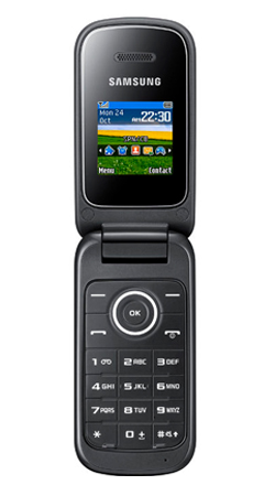 Samsung E1190 T-Mobile Pay As You Go Mobile Phone - Black