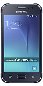 Samsung Galaxy J1 Ace Sim Free Smartphone - Black