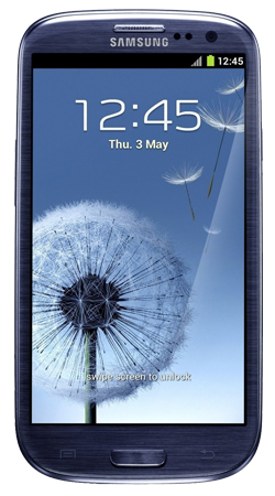 Samsung Galaxy S3 i9300 Android Sim Free Unlocked Mobile Phone - Blue