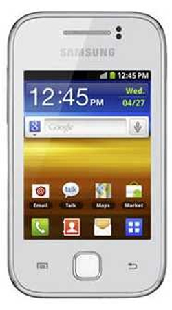 Samsung Galaxy Y S5360 Android Sim Free Unlocked Mobile Phone - White