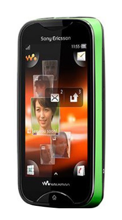Sony Ericsson Mix Walkman Vodafone Pay As You Go - Black/Green