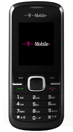 T-Mobile Zest II Pay as you go Mobile Phone - Black