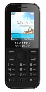 Alcatel One Touch 10.52 on Pay As You Go from Vodafone - Black