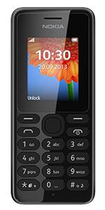 Vodafone Nokia 108 PAYG Mobile Phone - Black